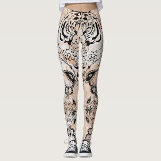 Boho Chic Tiger Designs Leggings