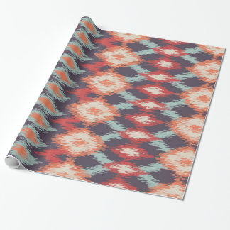 Boho Chic Tribal Pattern Wrapping Paper