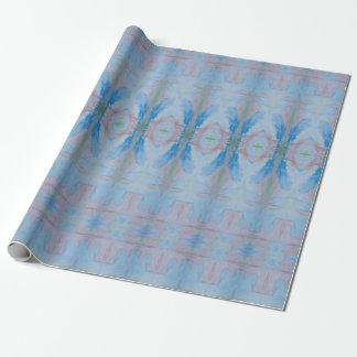 Boho Colored Pencil Drawing Wrapping Paper