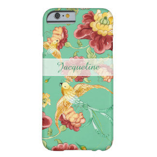 Boho Cottage Modern Bohemian Pattern Flower Birds Barely There iPhone 6 Case