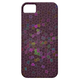 Boho Cranberry Quilted Tile Ethnic Graphic Case For The iPhone 5