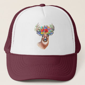 Boho Deer | Trucker Hat