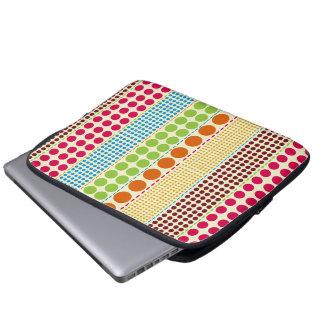 Boho Dots Electronics Bag