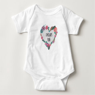 Boho Dream Big Baby Bodysuit