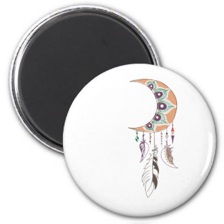 Boho dreamcatcher magnet