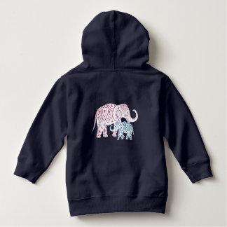 Boho Elephants , MOM and Me matching Hoodie