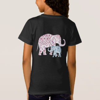 Boho Elephants , MOM and Me matching T-Shirt