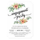 Boho Engagement Party Invitation