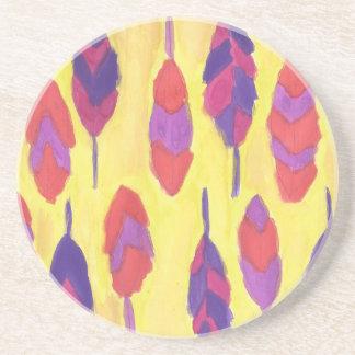 Boho Feathers Coaster