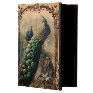 boho floral french country modern vintage peacock cover for iPad air