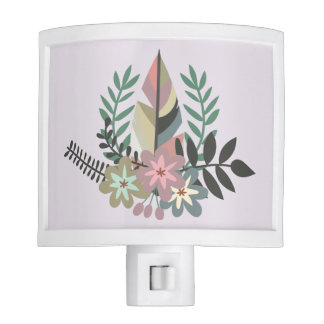 Boho Floral | Night Light