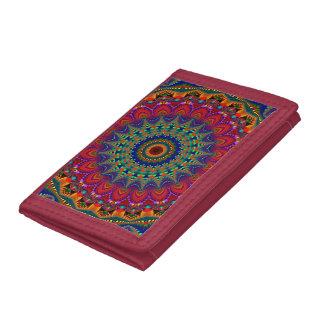 Boho Fractal Wallet
