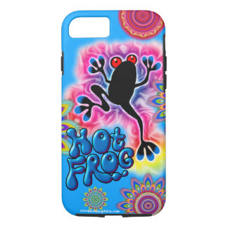 Boho Frog Surf summer lovin' iPhone 7 case