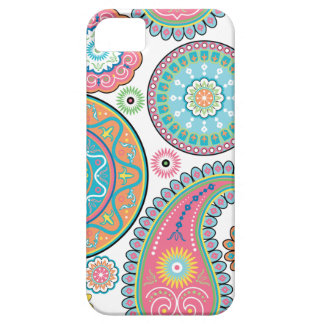 Boho Girl Paisley Multicolor Phone Case