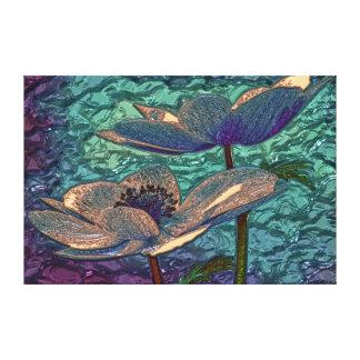 Boho Home Decor - Feel Good roses Canvas Prints