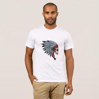 boho indian skull T-Shirt