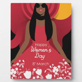boho international womens day plaque