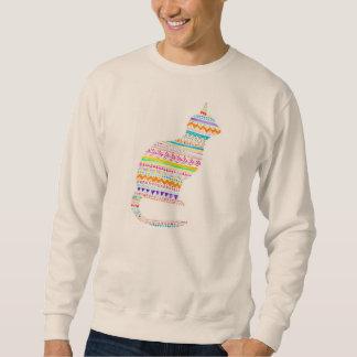 Boho Kitty Unisex Sweatshirt By Megaflora