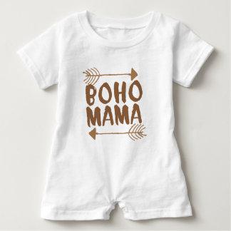 boho mama baby romper