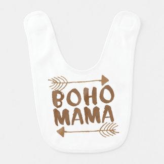 boho mama bib