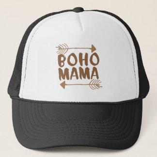 boho mama trucker hat