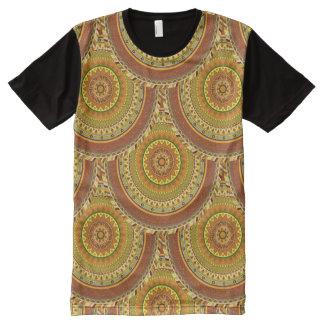 Boho mandala abstract pattern design