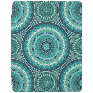 Boho mandala abstract pattern design iPad cover