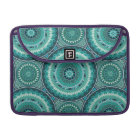 Boho mandala abstract pattern design sleeve for MacBook pro