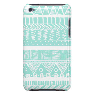 Boho Mint Aztec iPod Touch Case