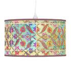 Boho Moroccan Bright Bedroom Hanging Light Pendant Lamp