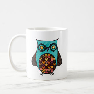 Boho Owl Coffee Mug