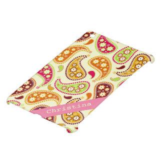 Boho Paisley Personalized iPad Mini Case