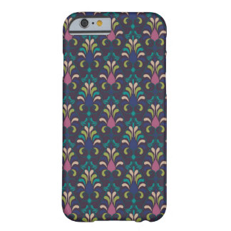 Boho Pattern Jewel-tone Blue Pink Purple Green Barely There iPhone 6 Case