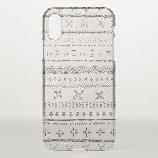 Boho Print iPhone X Case