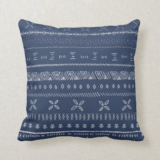 Boho Print Throw Pillow