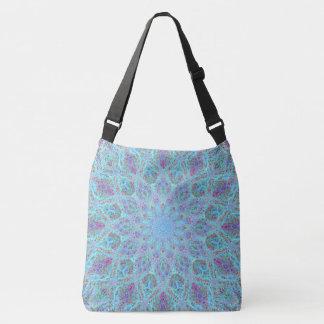 Boho-romantic colored mandala ornament arabesque crossbody bag