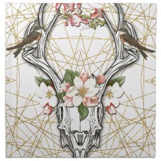 Boho Skull Napkin