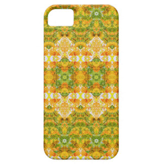 Boho Stylized Floral Stripes iPhone 5 Covers