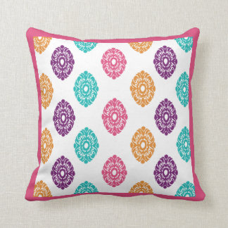 Boho Summer Throw Pillow