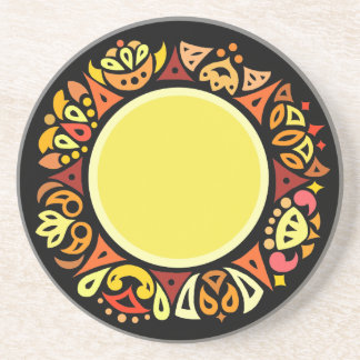 Boho Sun Coaster