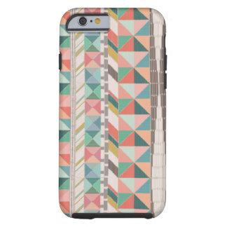 Boho Tapestry Stripe Tough iPhone 6 Case