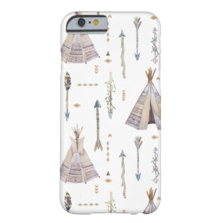 Boho Teepee and Arrows Barely There iPhone 6 Case