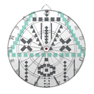 Boho Totem, Ethnic Symbol, Hippie, Aztec, Tribal Dartboards
