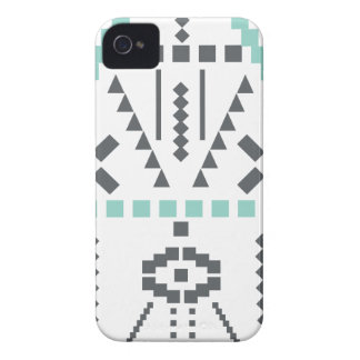 Boho Totem, Ethnic Symbol, Hippie, Aztec, Tribal iPhone 4 Cases