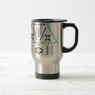 Boho Totem, Ethnic Symbol, Hippie, Aztec, Tribal Travel Mug