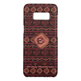 Boho Tribal Pattern, Personalized Case-Mate Samsung Galaxy S8 Case