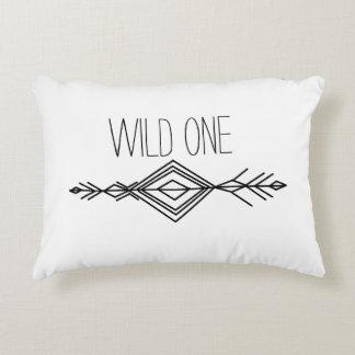 Boho Tribal Wild One Pillow
