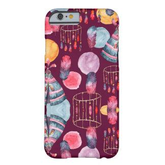 Boho Watercolor Tribal Pattern iPhone Case