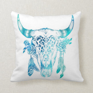 Boho Watercolour Pillow