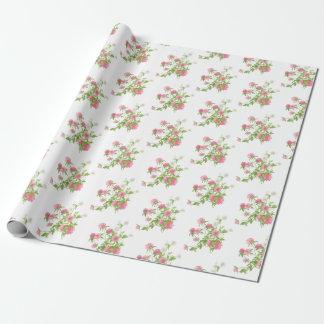 Boho wedding favor wrapping paper